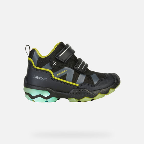 LIGHT-UP SHOES BOY GEOX BULLER ABX BOY - 8