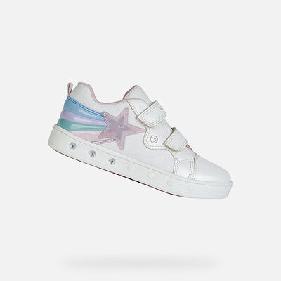 LIGHT-UP SHOES GIRL GEOX SKYLIN GIRL