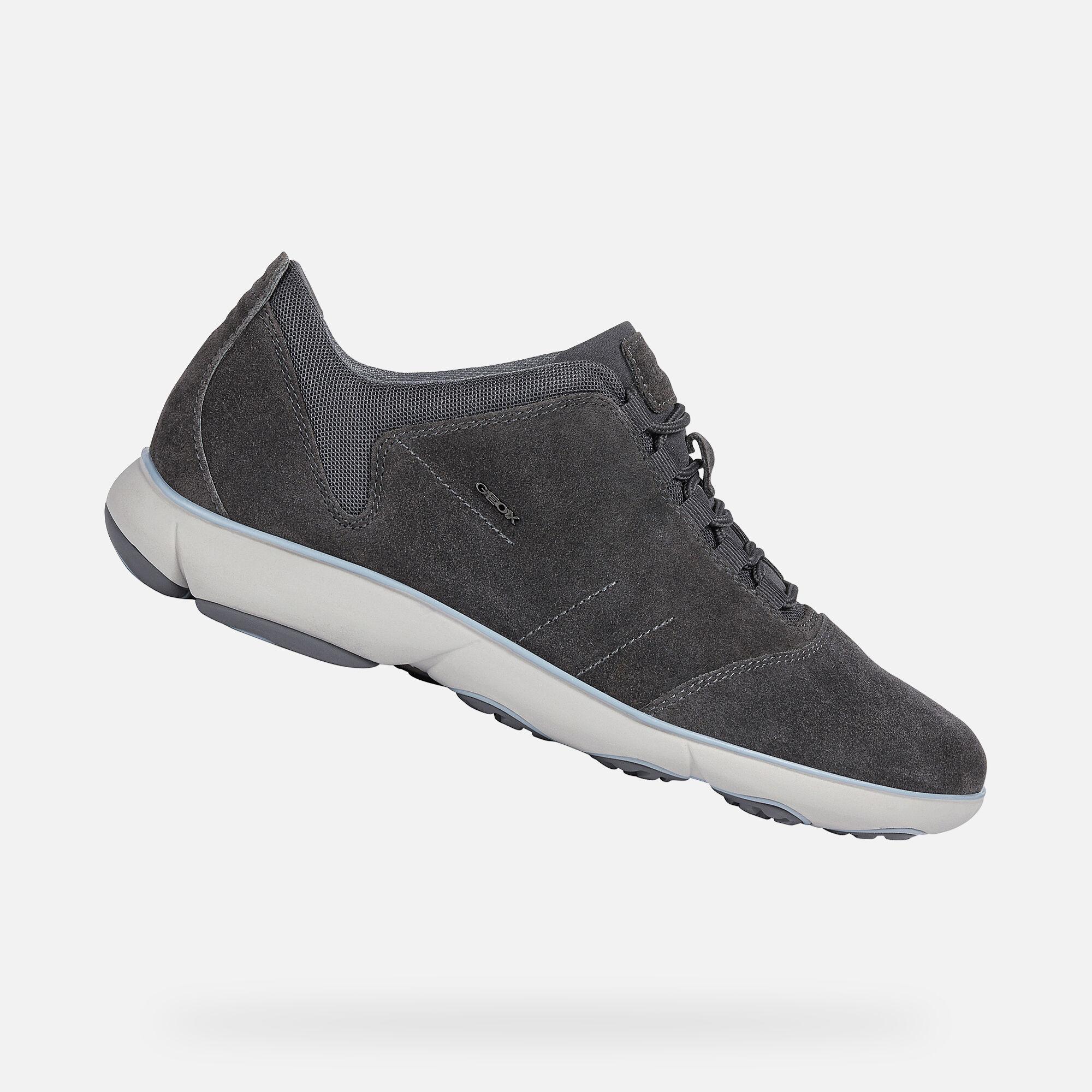 Geox NEBULA Man: Anthracite Sneakers