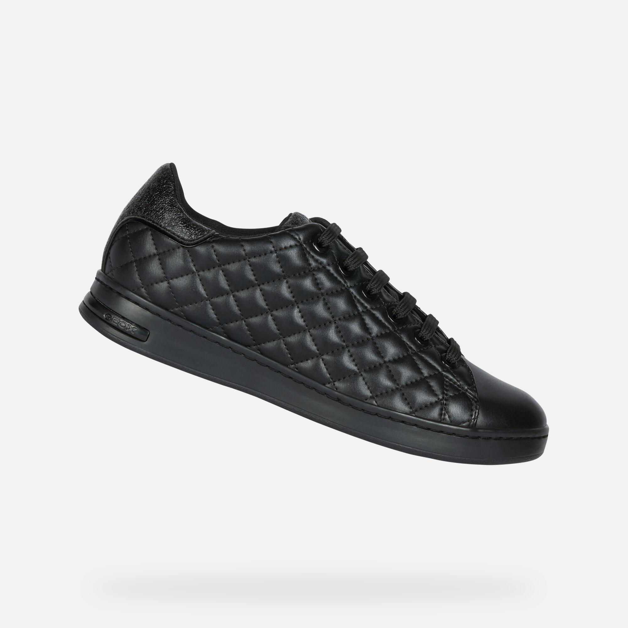 Geox JAYSEN Mujer: Sneakers Negros   Geox