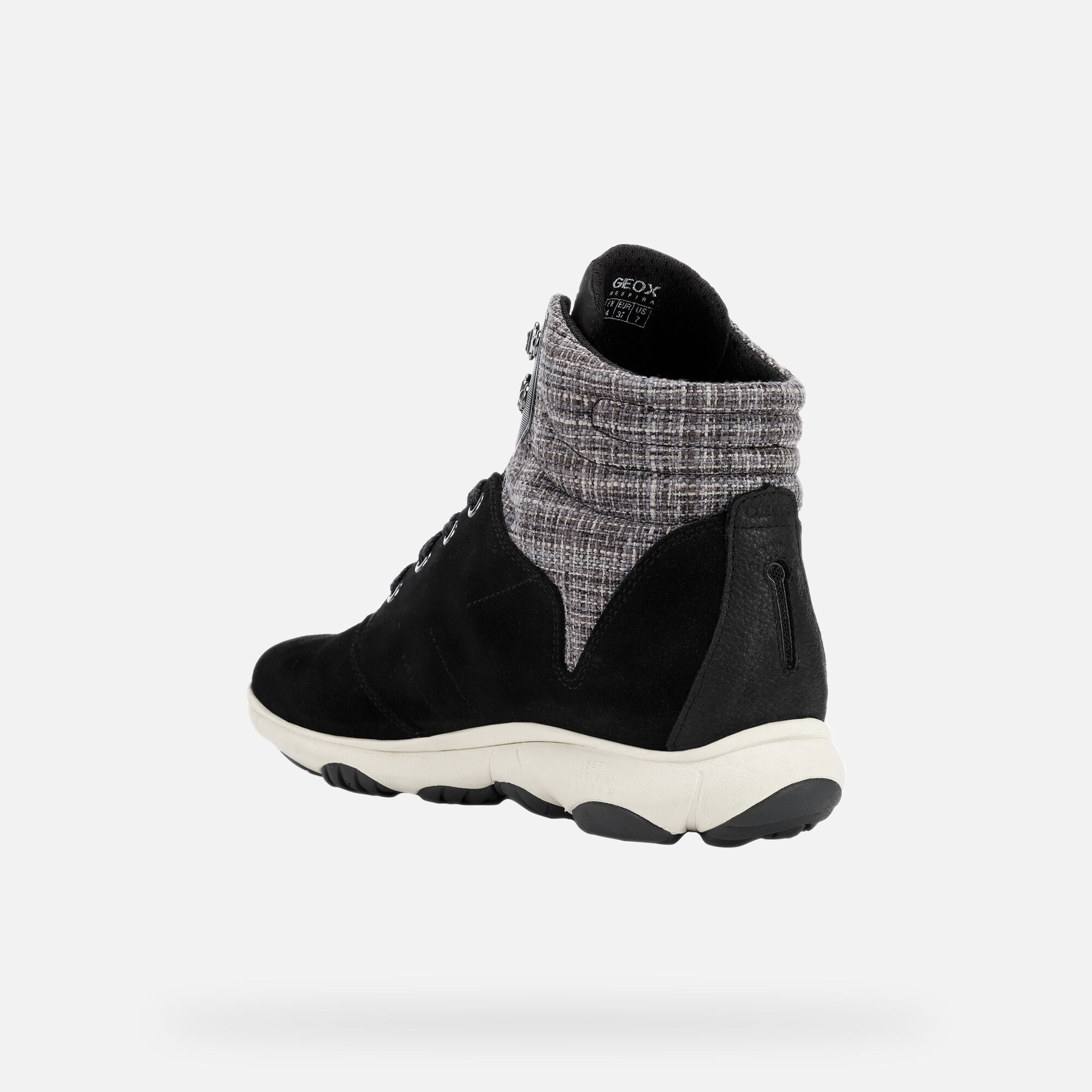 Geox Nebula 4x4 ABX Ankle Boots, Black   Black ankle boots