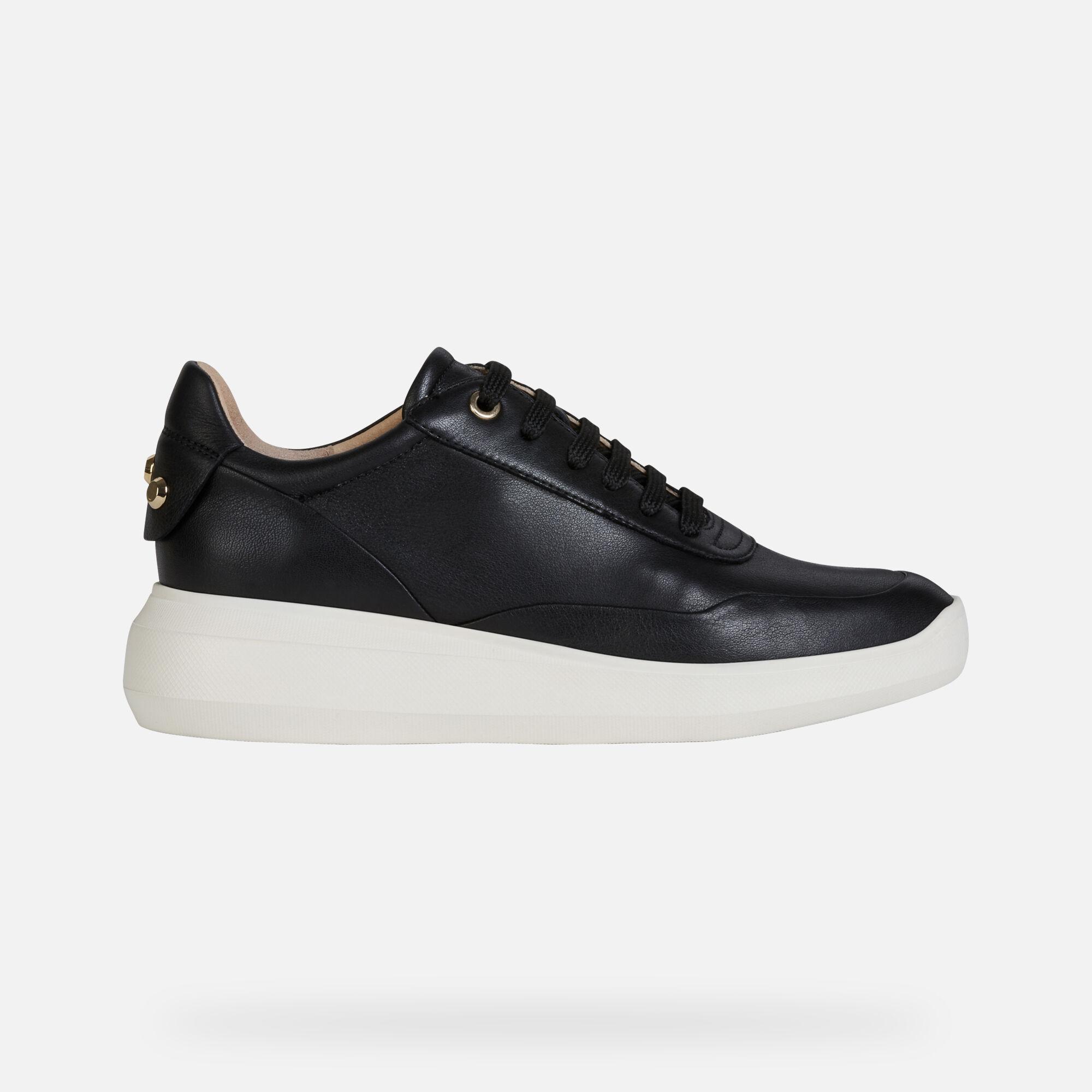 Geox RUBIDIA Woman: Black Sneakers