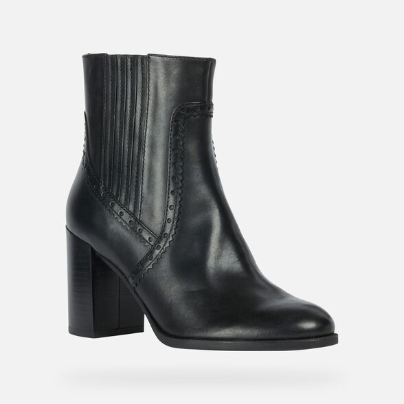ANKLE BOOTS WOMAN GEOX JACY WOMAN - 3