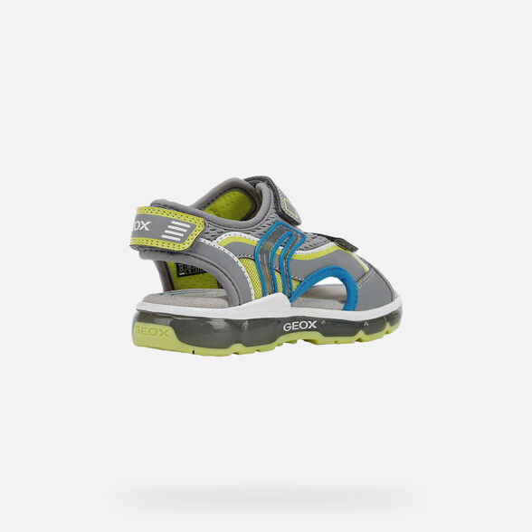 BOY LIGHT-UP SHOES GEOX ANDROID BOY - 5