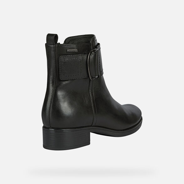 WOMAN ANKLE BOOTS GEOX FELICITY NP ABX WOMAN - 5