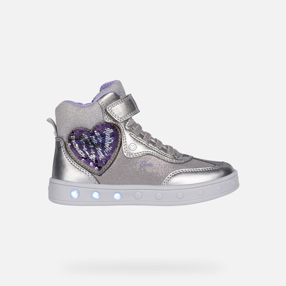 CHAUSSURES LED FILLE GEOX SKYLIN FILLE - 8