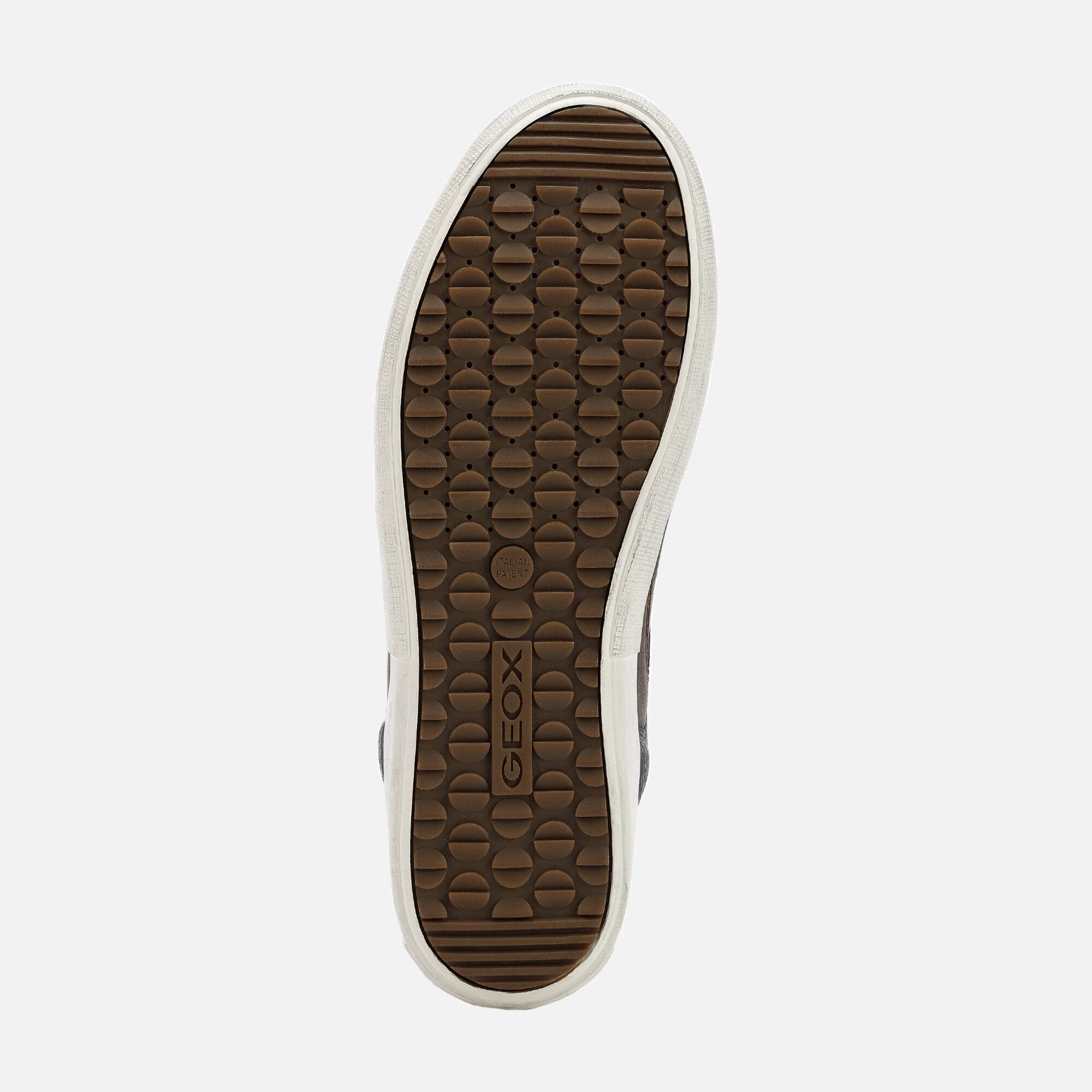 Geox TAIKI B ABX Man: Brown Sneakers | Geox Fall Winter