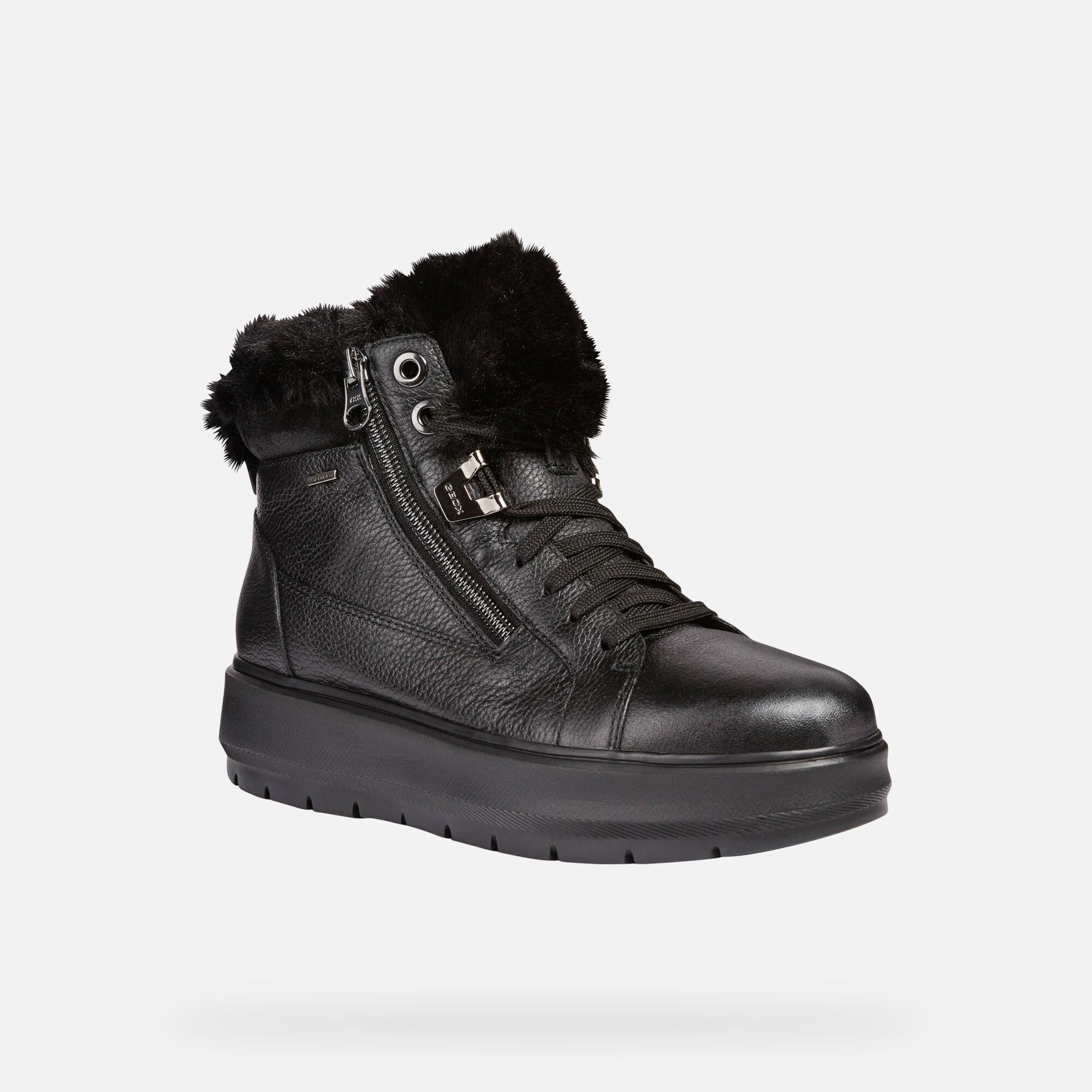 Geox KAULA B ABX Woman: Black Sneakers