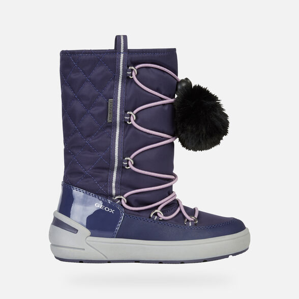 ANKLE BOOTS GIRL GEOX SLEIGH ABX GIRL - 2