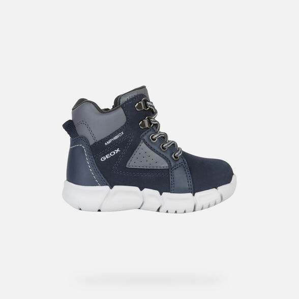 ANKLE BOOTS BABY GEOX FLEXYPER BABY BOY ABX - 2