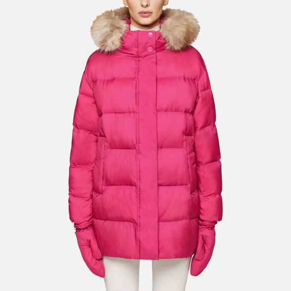 DOWN JACKETS WOMAN GEOX EMALISE WOMAN - 2