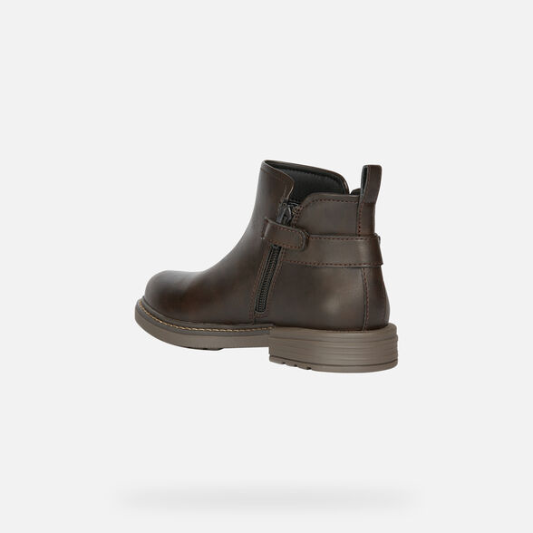 ANKLE BOOTS GIRL GEOX ECLAIR GIRL - 4
