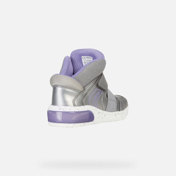 LIGHT-UP SHOES GIRL GEOX XLED GIRL - 6