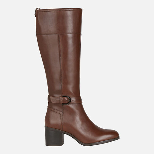 BOOTS WOMAN GEOX NEW ASHEEL WOMAN - null