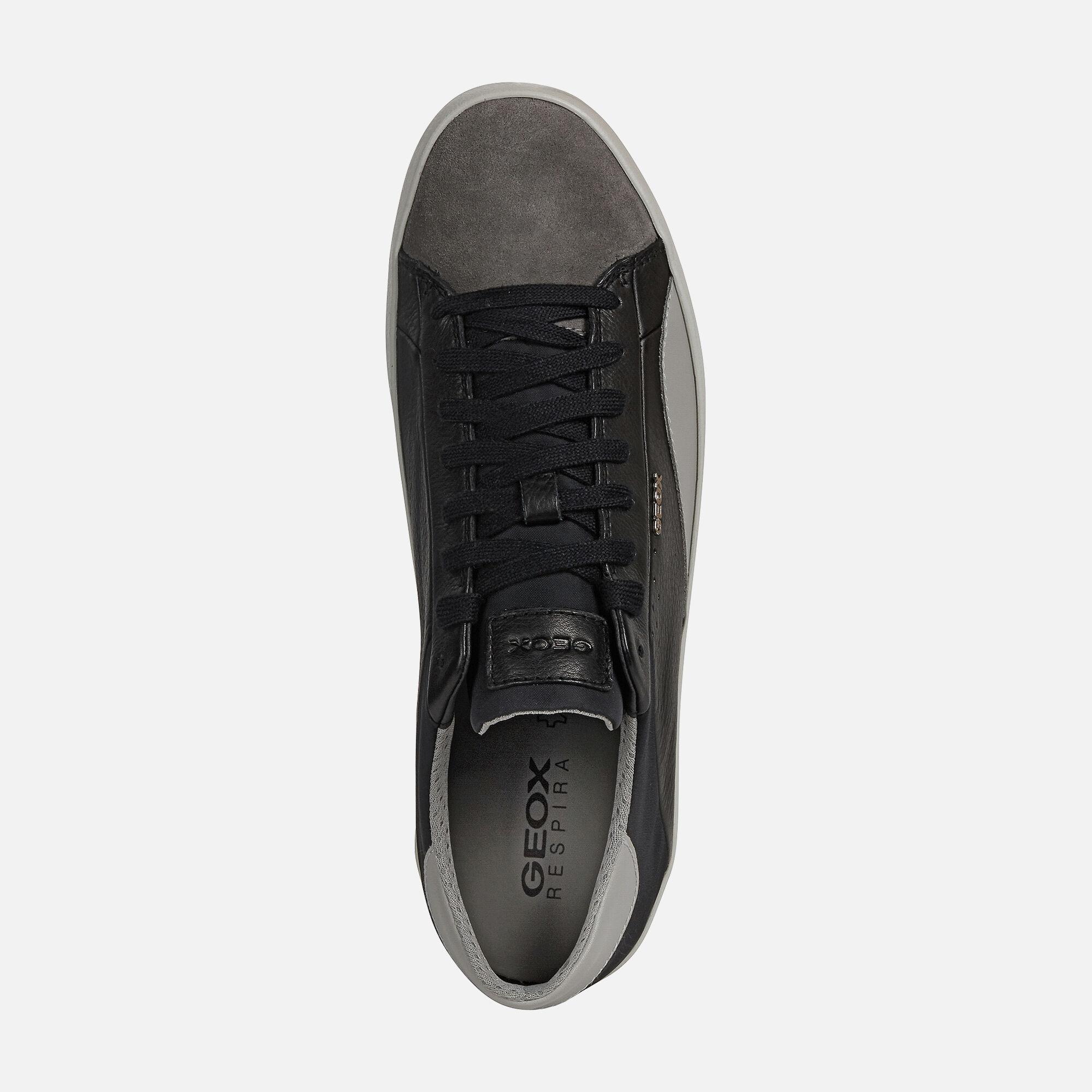 Geox WARLEY Man: Black Sneakers   Geox
