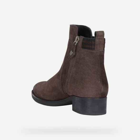 ANKLE BOOTS WOMAN GEOX FELICITY WOMAN - 4