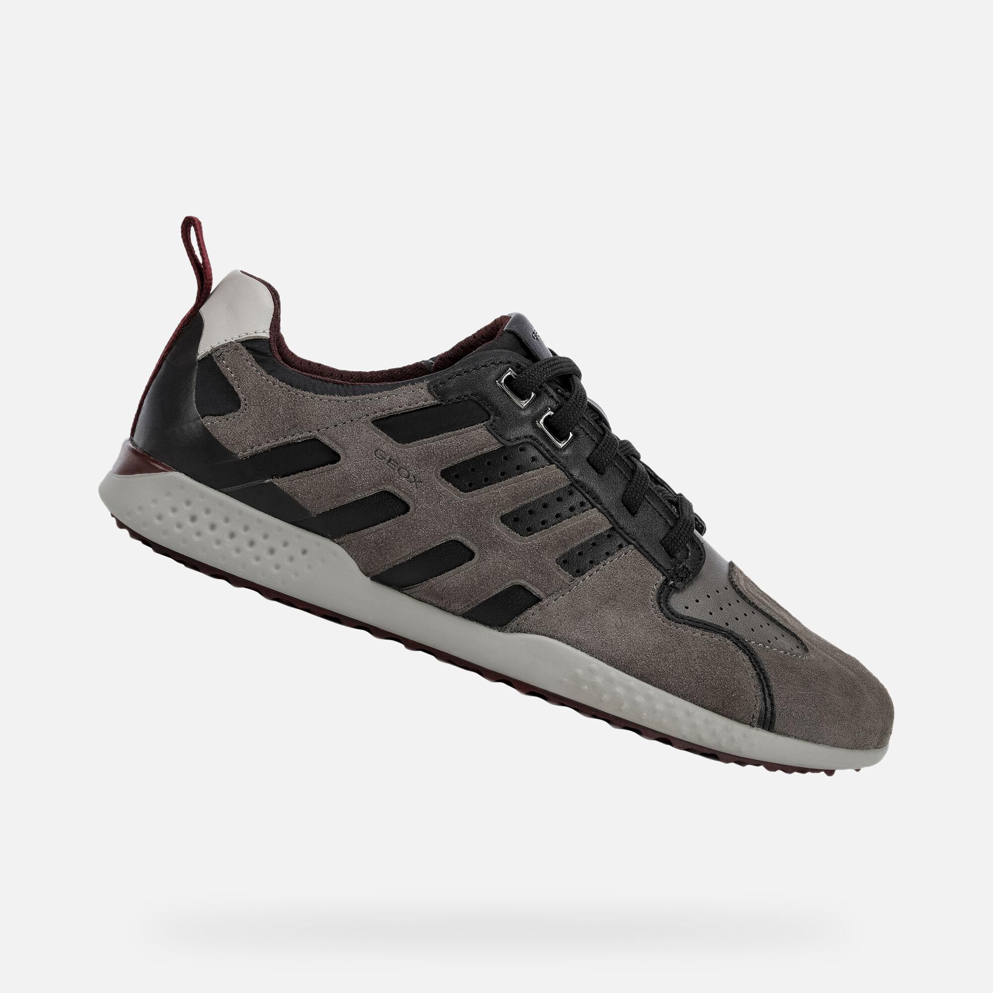 GEOX HERREN LEDER Sneaker Artikel Snake Leder Trend