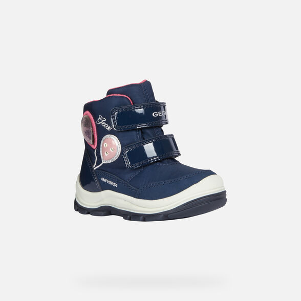 LIGHT-UP SHOES BABY GEOX FLANFIL BABY GIRL ABX - 3