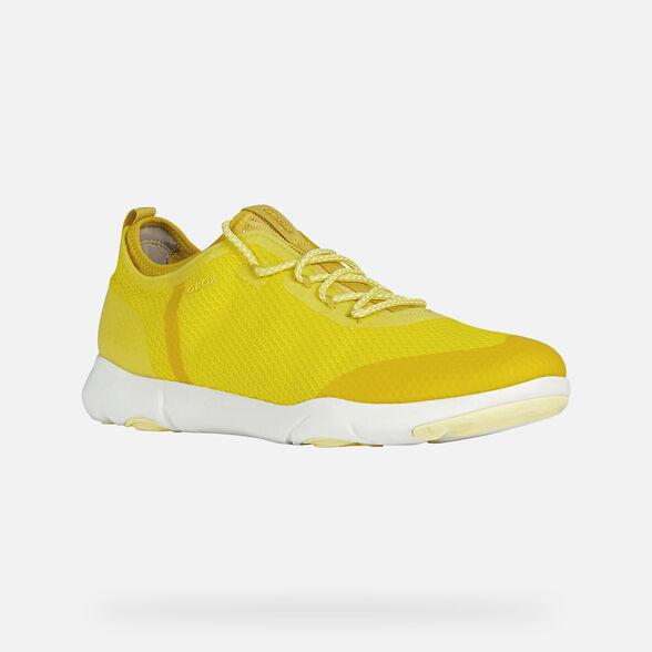 Rancio Predicar Debería  Geox NEBULA X Man: Light yellow Sneakers | Geox® Nebula