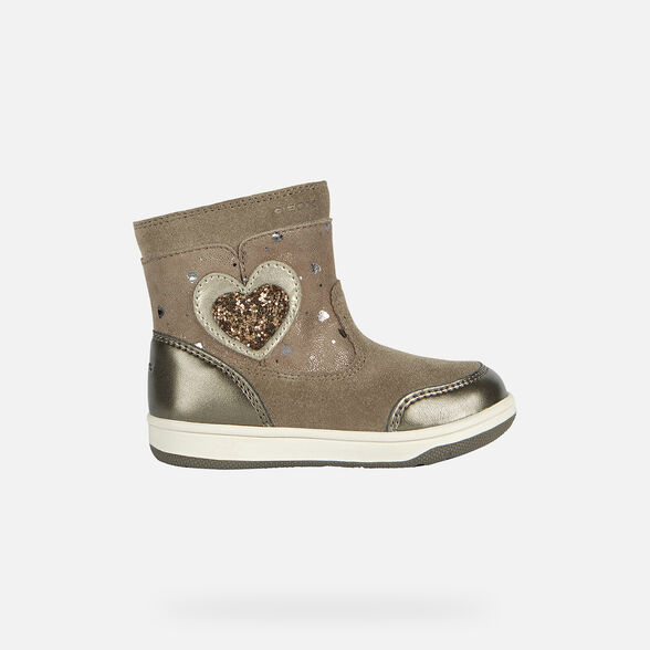 Almeja Dormitorio Descomponer  Geox NEW FLICK GIRL Baby Girl: Ankle Boots | Geox® Online Store