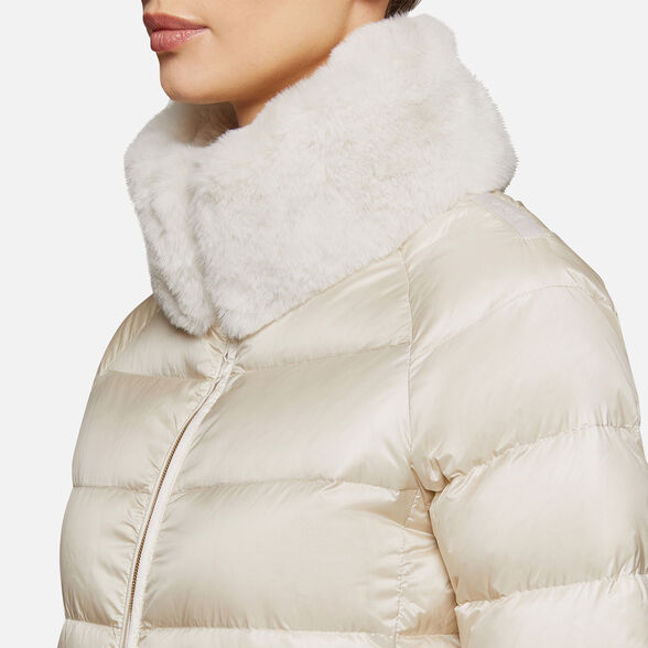 DOWN JACKETS WOMAN GEOX BLENDA WOMAN - 9