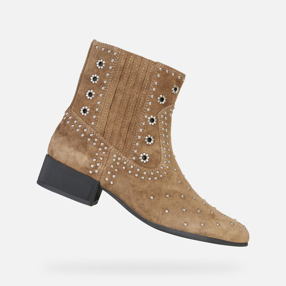ANKLE BOOTS WOMAN GEOX PEYTHON WOMAN - 1