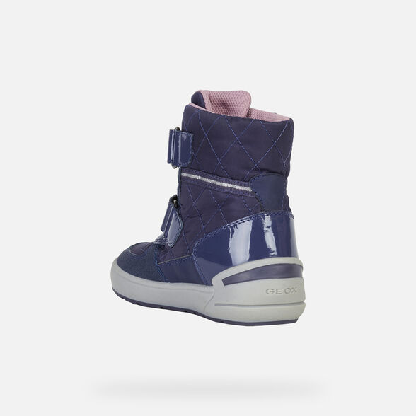 ANKLE BOOTS GIRL GEOX SLEIGH ABX GIRL - 4