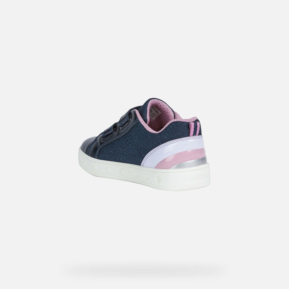 FILLE CHAUSSURES LED GEOX SKYLIN FILLE - 4
