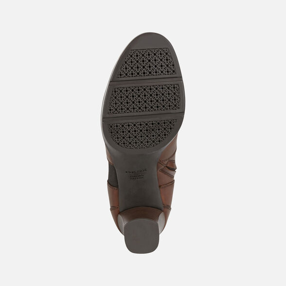 WOMAN ANKLE BOOTS GEOX ANYLLA HIGH WOMAN - 7