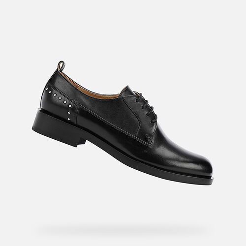 LACE UPS AND BROGUES WOMAN GEOX BROGUE WOMAN - null