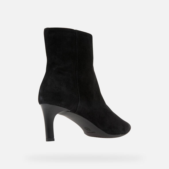 HEELED ANKLE BOOTS WOMAN GEOX BIBBIANA WOMAN - 5
