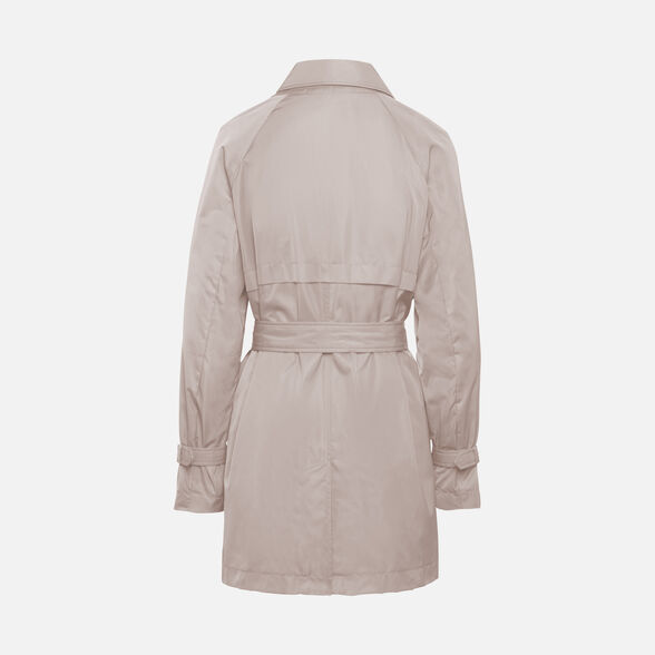 WOMAN OVERCOAT GEOX AIRELL WOMAN - 3
