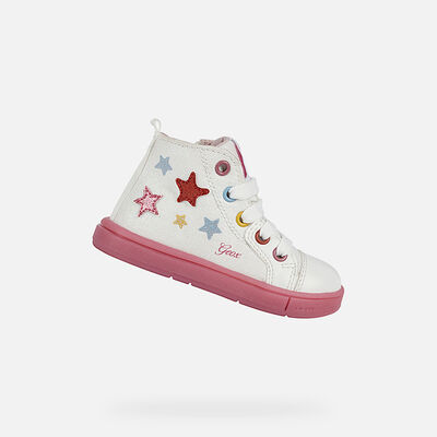 SNEAKERS BABY GEOX TROTTOLA BABY GIRL