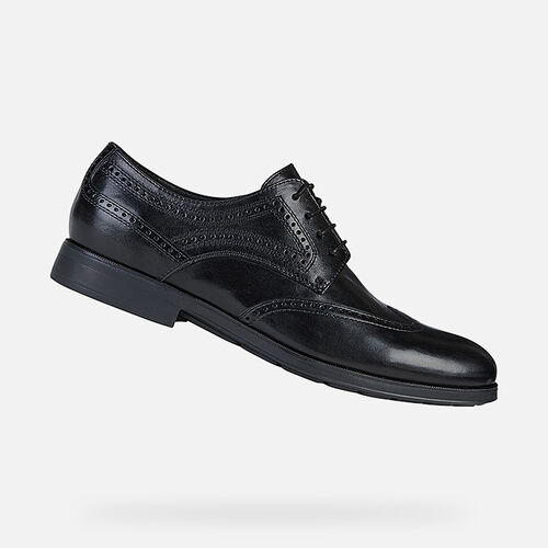FORMAL SHOES MAN GEOX HILSTONE WIDE MAN - null