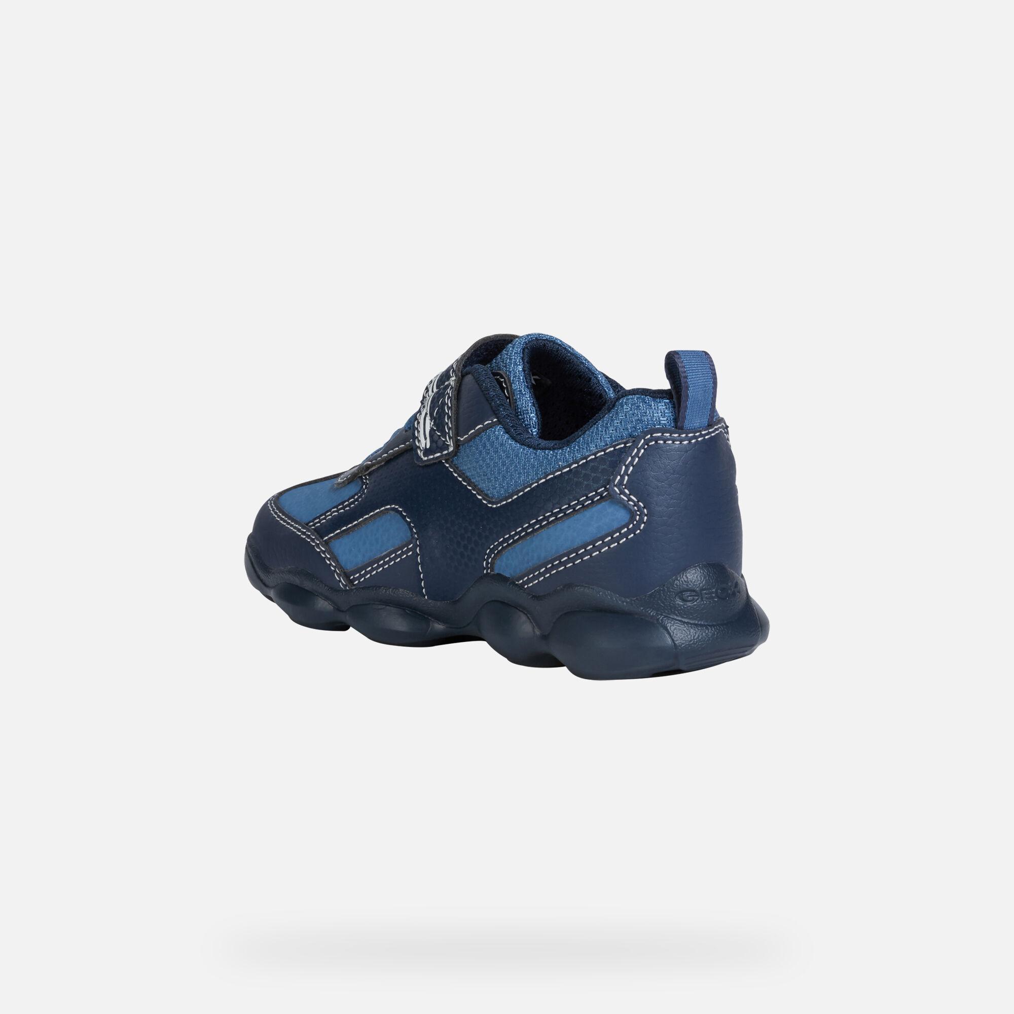 Geox MUNFREY Junior Boy: Blue Sneakers