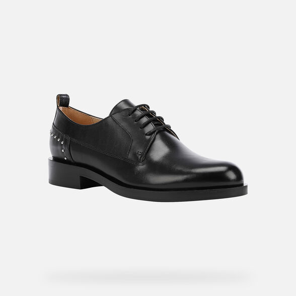 WOMAN LACE UPS AND BROGUES GEOX BROGUE WOMAN - 3