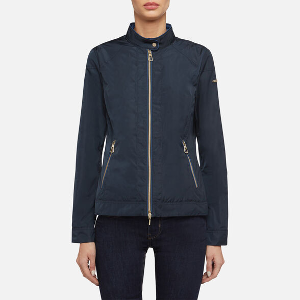 WOMAN JACKETS GEOX GENZIANA WOMAN - 2