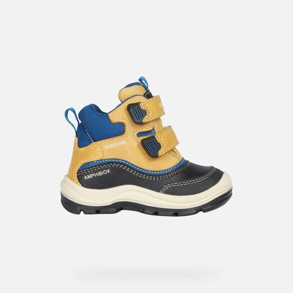 ANKLE BOOTS BABY GEOX FLANFIL BABY BOY ABX - 2