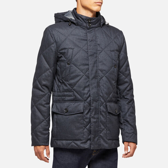 DOWN JACKETS MAN GEOX RENAN MAN - 4