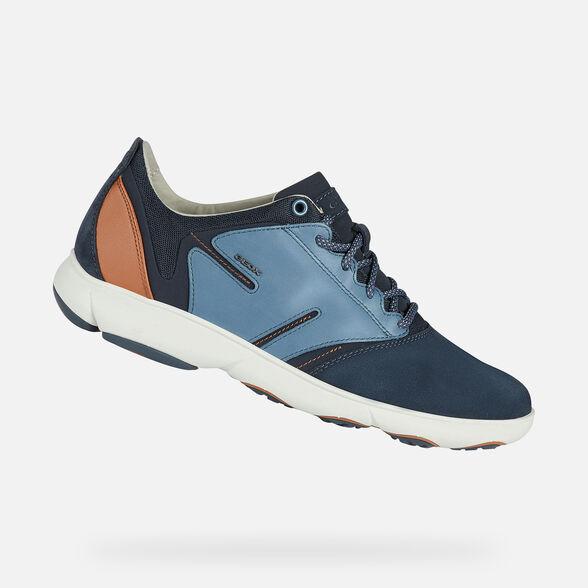 contaminación Permanecer de pié munición  Geox NEBULA Man: Navy blue Sneakers | Geox® FW20/21