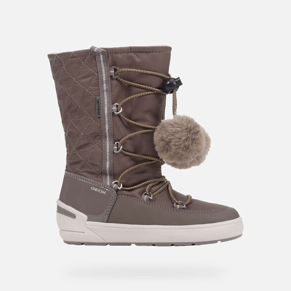 BOTTINES FILLE GEOX SLEIGH ABX FILLE - 2
