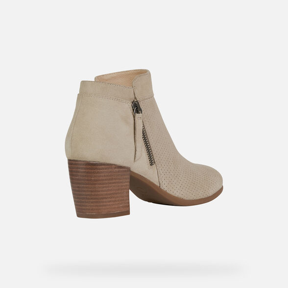 WOMAN ANKLE BOOTS GEOX NEW LUCINDA WOMAN - 5
