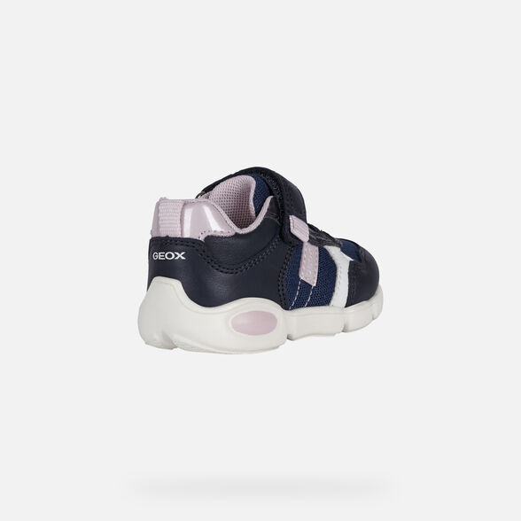 sale-DKFI-EN Site Catalog GEOX PILLOW BABY GIRL - NAVY AND PINK