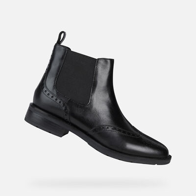 ANKLE BOOTS WOMAN GEOX BETTANIE WOMAN