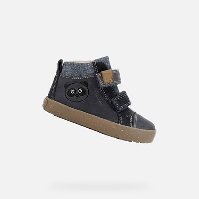 HIGH TOP BABY GEOX KILWI BABY BOY