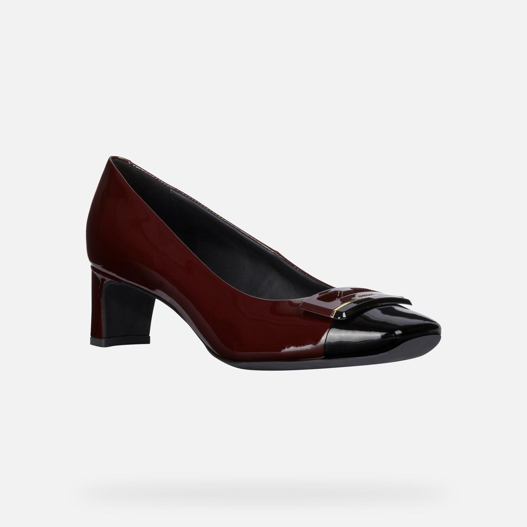 Geox VIVYANNE MID Donna: Scarpe con tacco Bordeaux | Geox ®