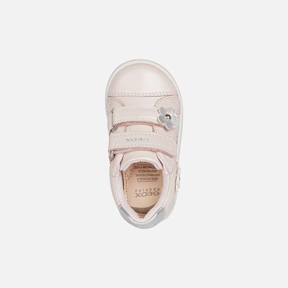 SNEAKERS BABY GEOX DJROCK BABY GIRL - LIGHT ROSE
