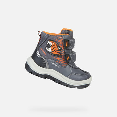 SCARPE CON LUCI BABY GEOX FLANFIL BABY BOY ABX