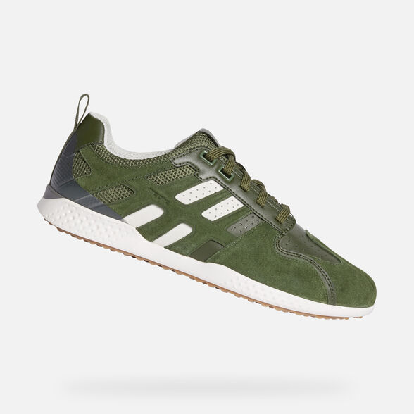 Geox U Snake E Chaussures Hommes Loisirs Sneaker Chaussures Basses Stone u8207e022mec9m5y