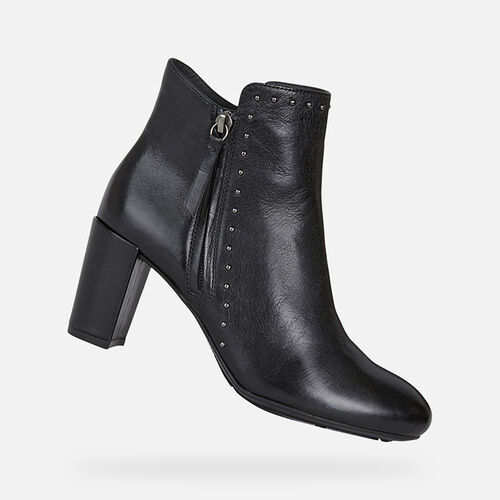 ANKLE BOOTS WOMAN GEOX LOISIA WOMAN - null